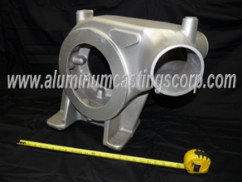 large air set or no bake aluminum sand casting