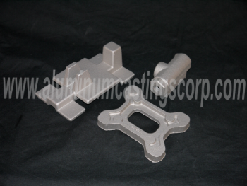high strength tenzaloy 713 aluminum sand casting